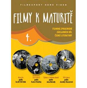 Filmy k maturitě 4 - 4 DVD (digisleeve) - neuveden