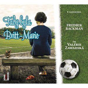 CD Tady byla Britt-Marie - Backman Fredrik