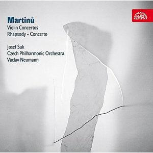 Koncerty pro housle a orchestr č. 1 a 2 - CD - Martinů Bohuslav
