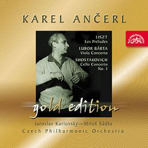 Gold Edition 42 Liszt: Preludia; Bárta: Koncert pro violu; Šostakovič: Koncert pro violoncello - CD - kolektiv autorů