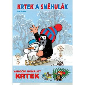 Krtek - Omalovánkový vánoční komplet - Miler Zdeněk