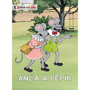 DVD Anča a Pepík - Lomová Lucie