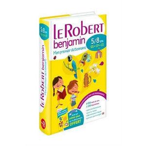 Le Robert benjamin: Mon premier dictionnaire 5/8 ans GS-CP-CE - kolektiv autorů