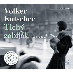 Tichý zabiják - 2 CDmp3 (Čte Jan Teplý) - Kutscher Volker