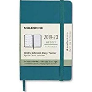 Moleskine: Plánovací zápisník 2019-2020 tvrdý zelený S - neuveden