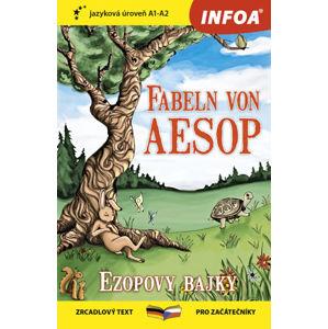 Ezopovy bajky / Fabeln von Aesop - Zrcadlová četba (A1-A2) - Ezop