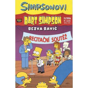 Simpsonovi - Bart Simpson 11/2016 - Bezva bavič - kolektiv autorů