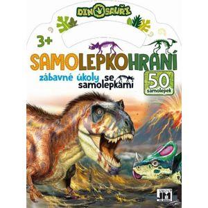 Dinosauři - Samolepkohraní - neuveden