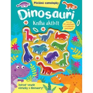 Plstěné samolepky - Dinosauři - kniha aktivit - neuveden