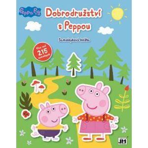 Dobrodružství s Peppou - Samolepková knížka - neuveden