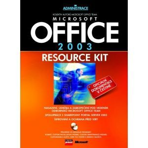 Office 2003 Resource Kit + CD - Office Team Microsoft