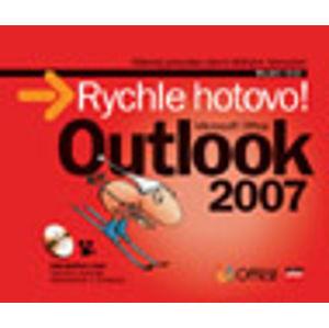 MS Office Outlook 2007 - Rychle hotovo! + CD - Král Mojmír