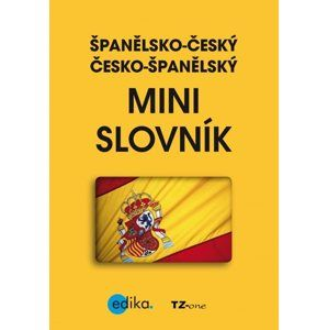 Španělsko-český česko-španělský mini slovník - TZ-one
