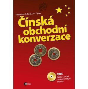 Čínská obchodní konverzace + CD mp3 - Tereza Slaměníková