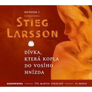 CD Dívka, která kopla do vosího hnízda - Larsson Stieg