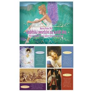 Andělská poselství na každý den - stolní kalendář - Doreen Virtue