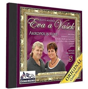 Eva a Vašek - 5 - Akropolis Adie - 1 CD - neuveden