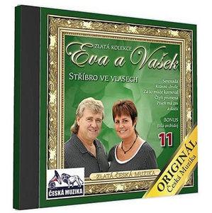 Eva a Vašek 11 - Střibro ve vlasech - 1 CD - neuveden